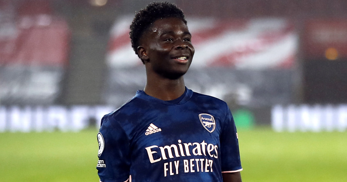 Arteta claims Arsenal starlet Bukayo Saka has unusual leadership qualities - team talk