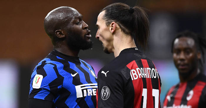 Watch: Former Man Utd teammates Lukaku and Ibra clash in Milan derby – PF - team talk