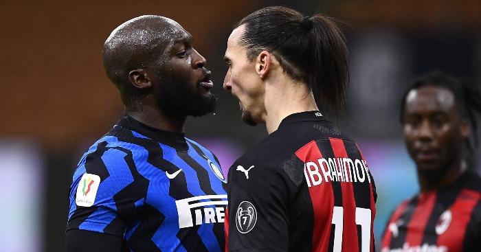 Watch: Former Man Utd teammates Lukaku and Ibra clash in Milan derby – PF