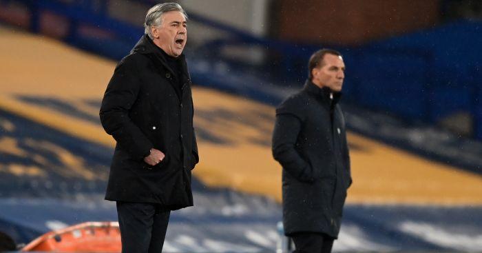 Carlo Ancelotti Everton