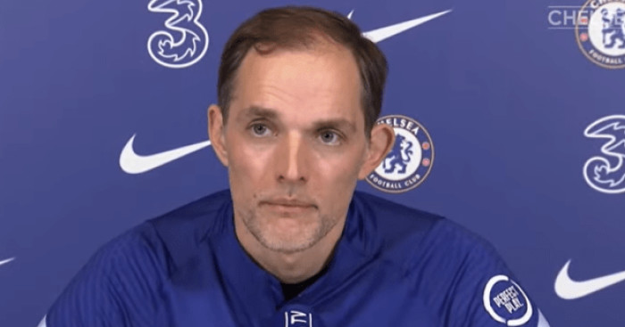Thomas Tuchel press pic via YouTube