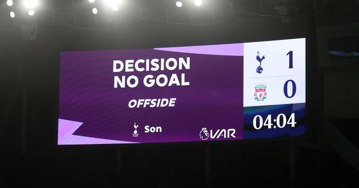 VAR no goal for Tottenham vs Liverpool TEAMtalk