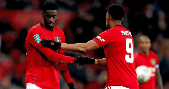 Axel Tuanzebe Anthony Martial TEAMtalk