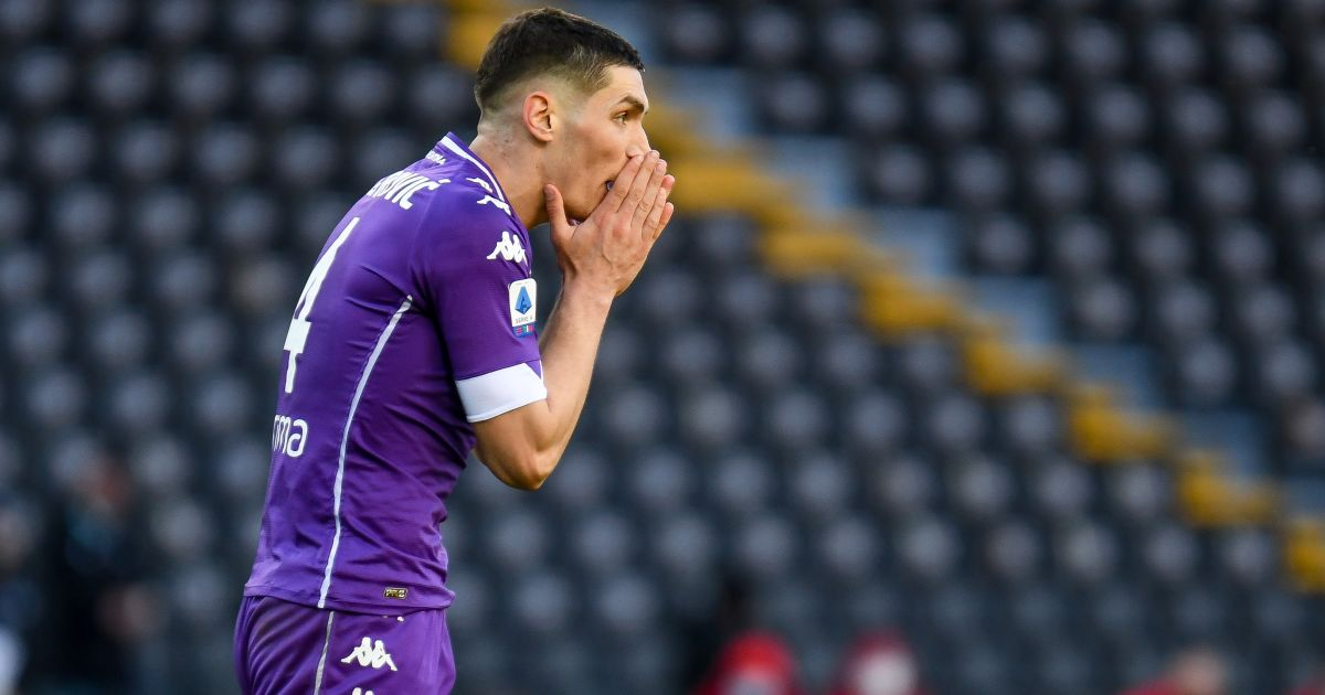 Nikola Milenkovic Udinese v Fiorentina Février 2021