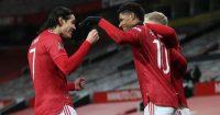 Edinson Cavani, Marcus Rashford Man Utd
