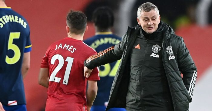 Dan James Solskjaer TEAMtalk