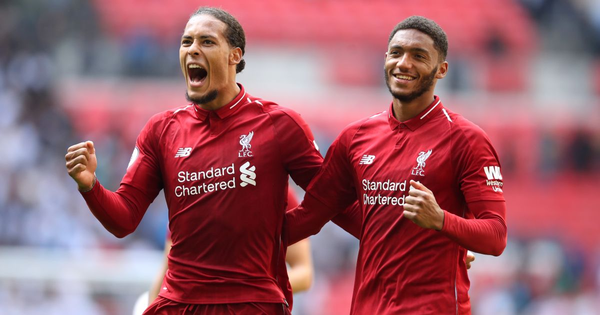 Virgil van Dijk, Joe Gomez Liverpool
