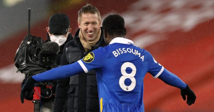 Graham Potter, Yves Bissouma Brighton