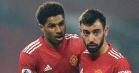 Marcus Rashford, Bruno Fernandes Manchester United. TEAMtalk