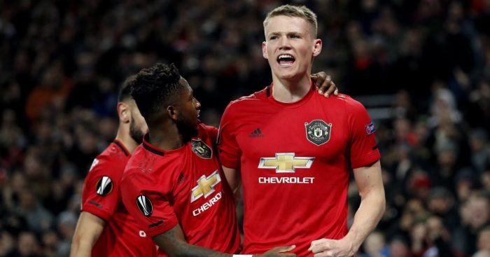 Fred, Scott McTominay Manchester United