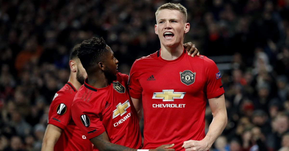 Fred, Scott McTominay Manchester United