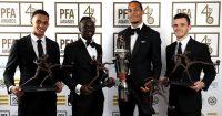 Trent Alexander-Arnold, Sadio Mane, Virgil van Dijk, Andrew Robertson PFA awards, Liverpool