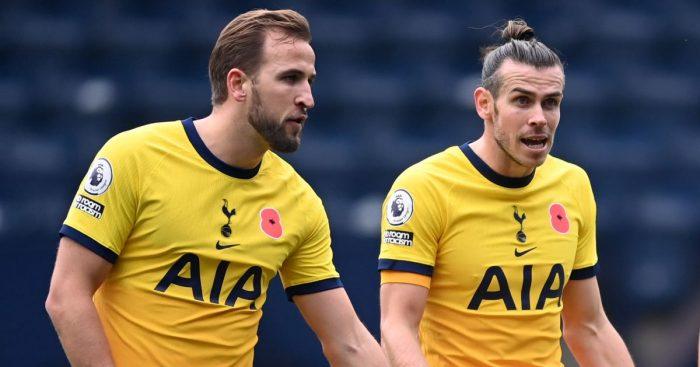 Harry Kane, Gareth Bale Tottenham