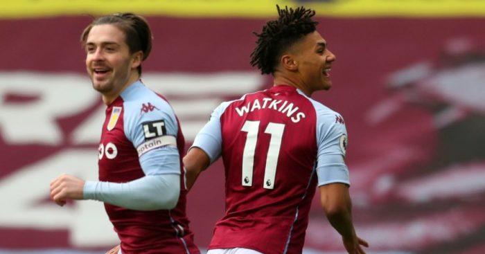 Jack Grealish, Ollie Watkins Aston Villa
