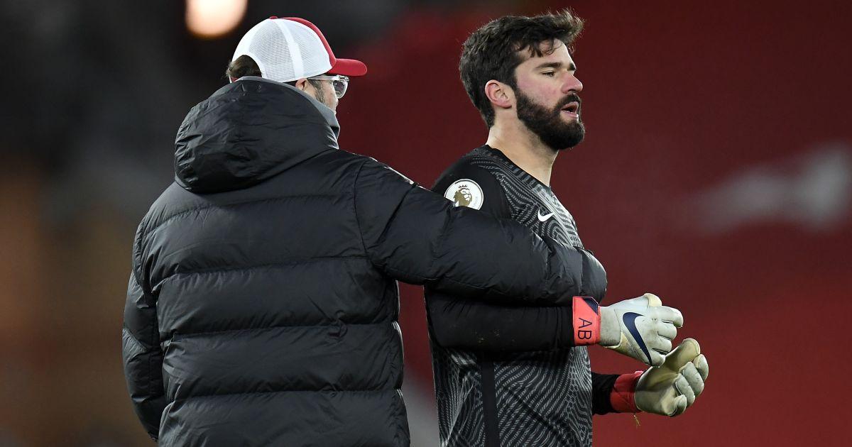 Jurgen Klopp, Alisson Becker Liverpool