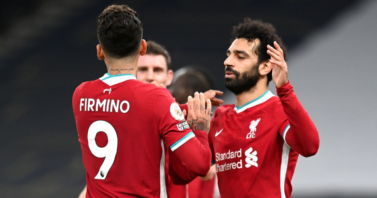 Roberto Firmino, Mohamed Salah Liverpool