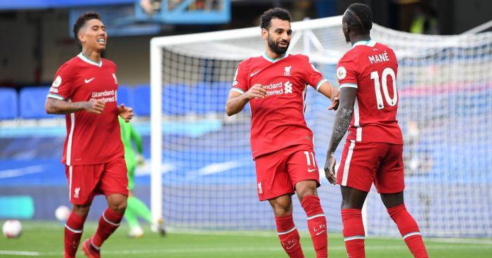 Roberto Firmino, Mohamed Salah, Sadio Mane Liverpool