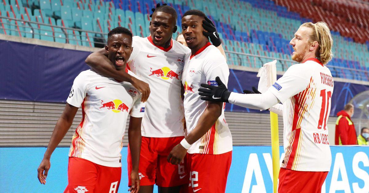 Amadou Haidara, Ibrahima Konate, Nordi Mukiele, Emil Forsberg RB Leipzig