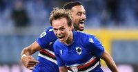Mikkel Damsgaard, Fabio Quagliarella Sampdoria celeb
