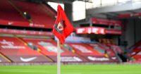 Liverpool corner flag Anfield TEAMtalk