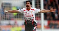Luis Suarez Cardiff v Liverpool 2014
