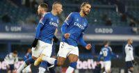 Dominic Calvert-Lewin, Richarlison Everton v Tottenham