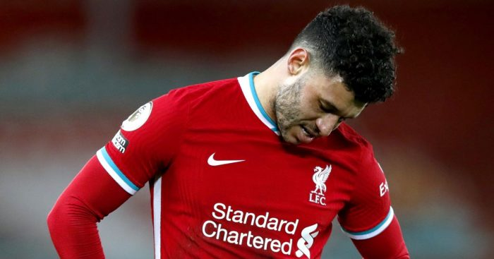 Alex Oxlade-Chamberlain Liverpool frustration