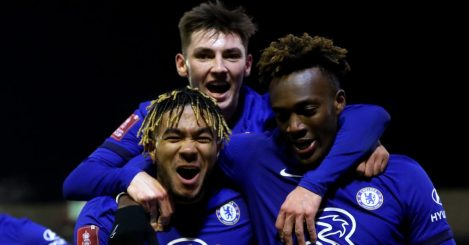 Reece James, Billy Gilmour, Tammy Abraham, Chelsea