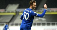 James Maddison Newcastle v Leicester January 2021