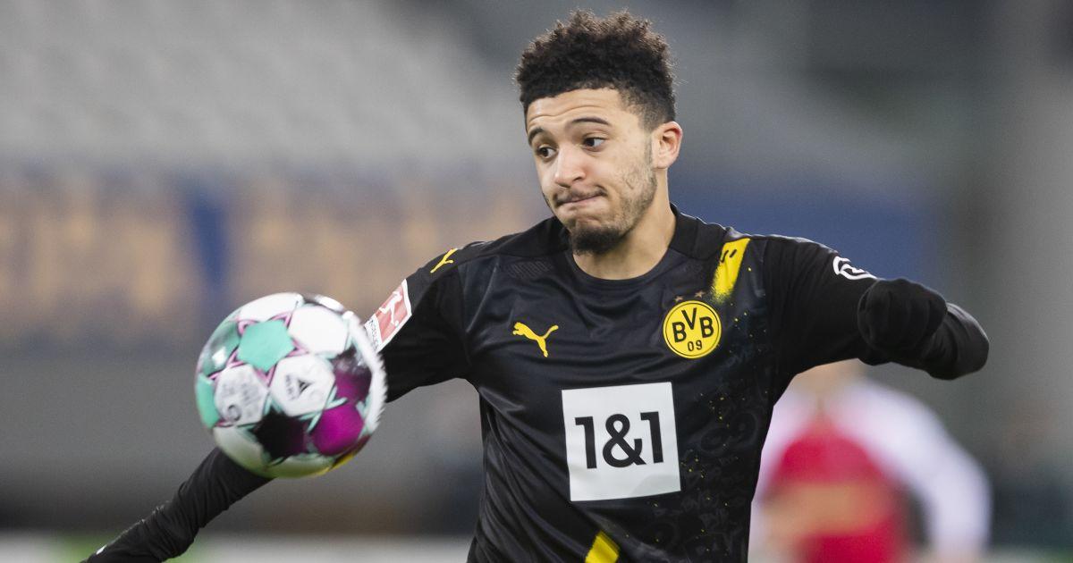 Jadon Sancho Freiburg v Borussia Dortmund February 2021
