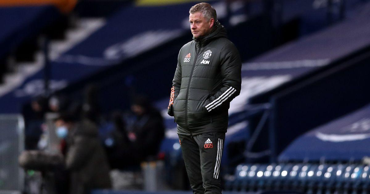 Ole Gunnar Solskjaer West Brom v Man Utd February 2021