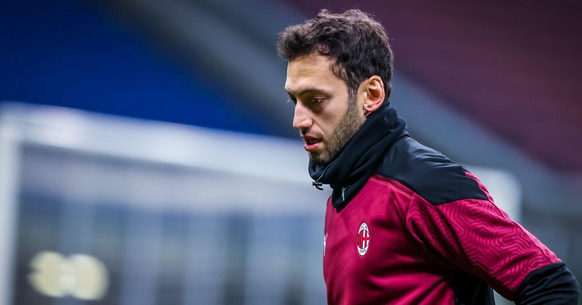 Hakan Calhanoglu AC Milan v Torino January 2021