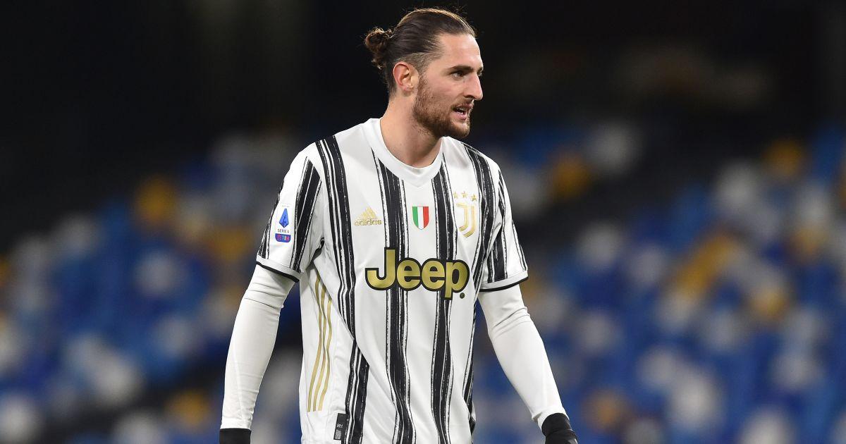 Adrien Rabiot Napoli v Juventus February 2021