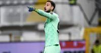 Gianluigi Donnarumma Spezia v AC Milan February 2021