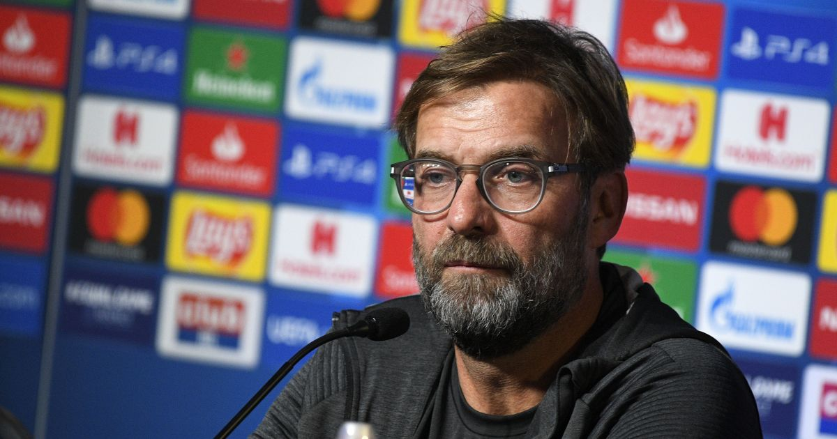 Jurgen Klopp Liverpool Champions League press conference