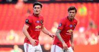 Harry Maguire, Victor Lindelof Manchester United TEAMtalk