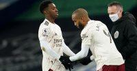 Eddie Nketiah, Alexandre Lacazette Arsenal substitution TEAMtalk