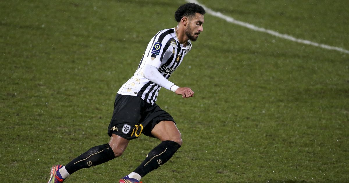 Angelo Fulgini Paris Saint-Germain v Angers Januari 2021