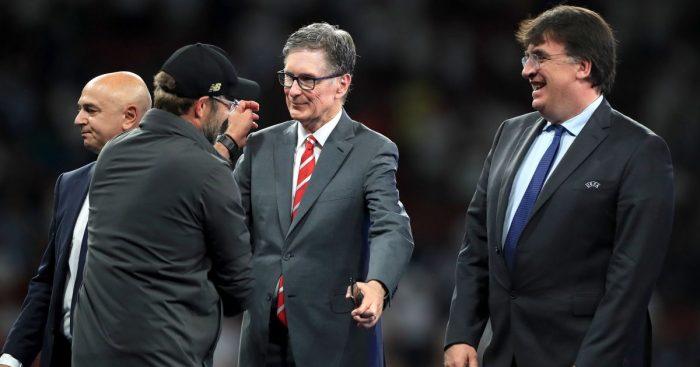 Jurgen Klopp, John Henry FSG Liverpool June 2019