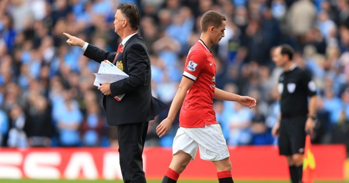 Louis van Gaal, Adnan Januzaj Man Utd 2014