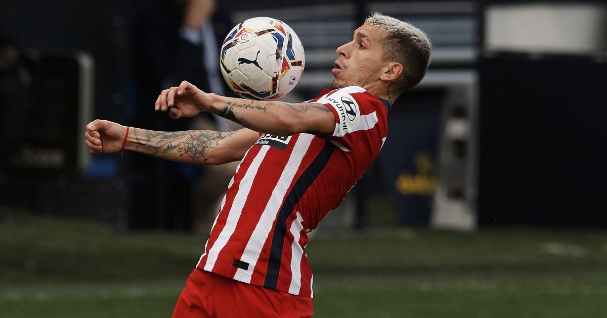 Lucas Torreira Cadiz v Atletico Madrid January 2021