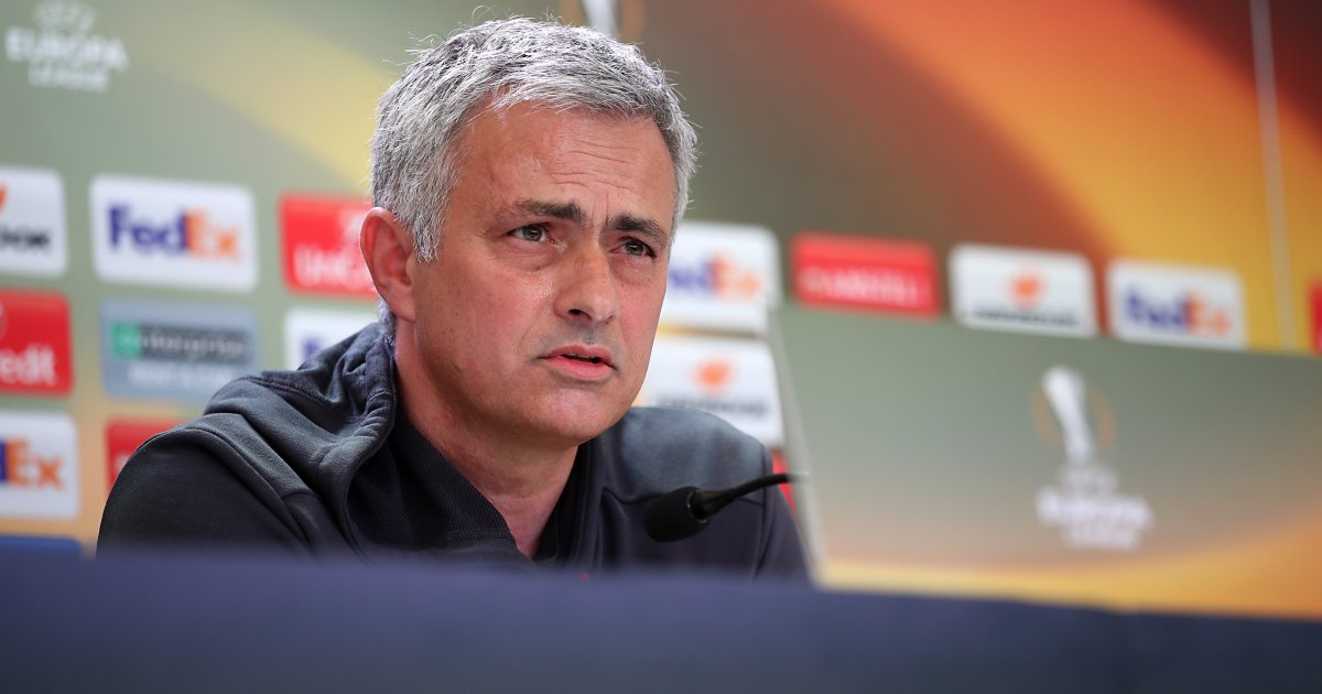 Jose Mourinho Europa League presser