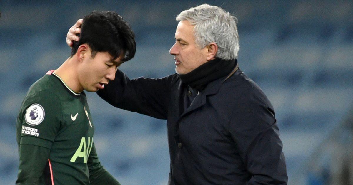 Heung-min Son, Jose_.Mourinho
