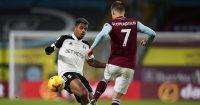 Mario Lemina, Johann Berg Gudmundsson Burnley v Fulham February 2021