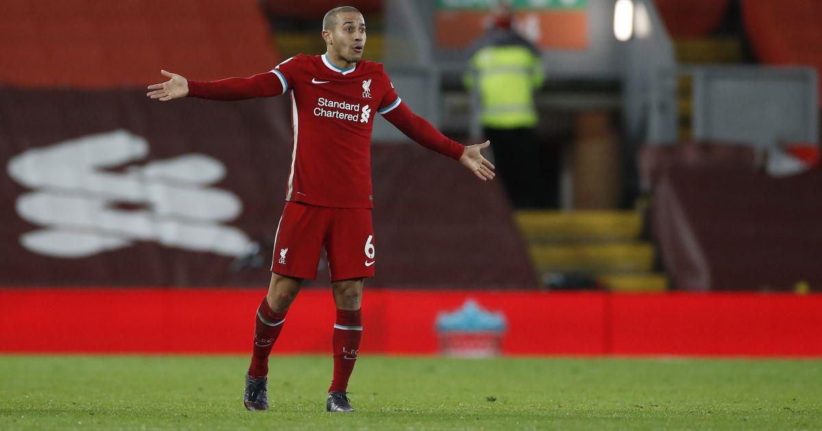 Thiago Alcantara Liverpool TEAMtalk