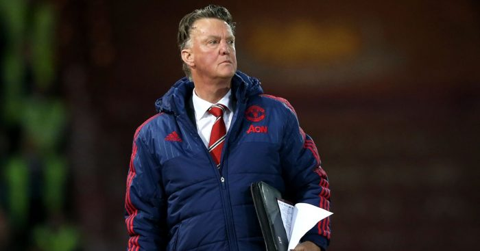 Louis van Gaal Man Utd TEAMtalk