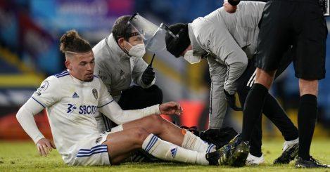 Kalvin Phillips injured Leeds