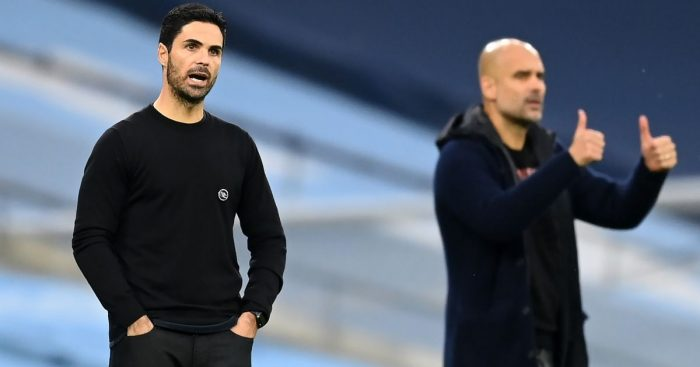 Arteta Guardiola TEAMtalk
