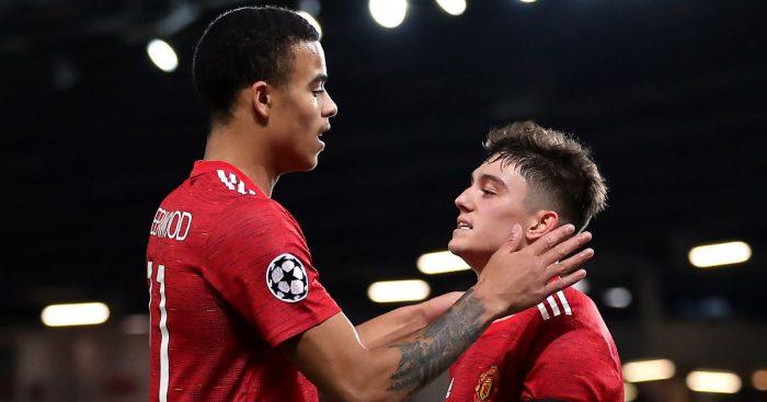 Mason Greenwood, Daniel James Manchester United