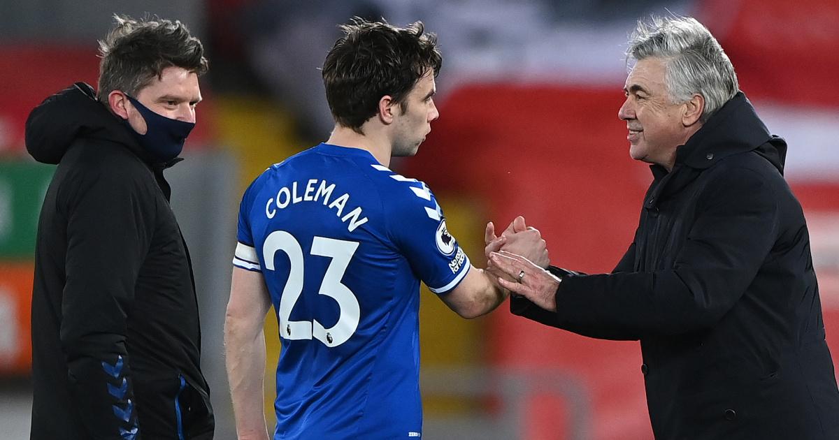 Coleman.Ancelotti.Everton.TEAMtalk